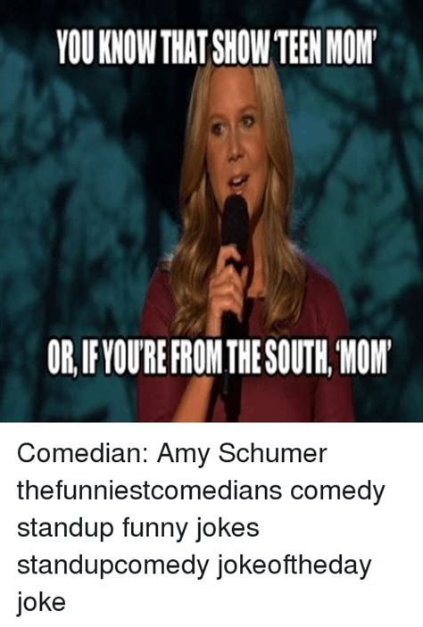 Amy Schumer Meme - or ifloure from the south mom comedian amy schumer