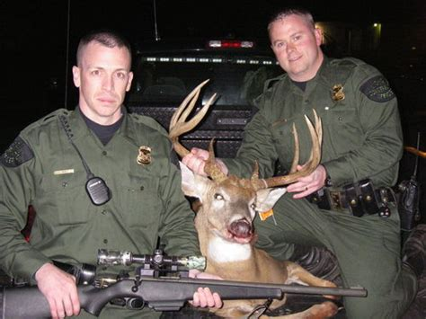 Officer In Michigan by Michigan Dnr Mounts