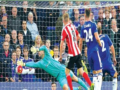 chelsea yesterday results southton humiliate chelsea at stamford bridge sport