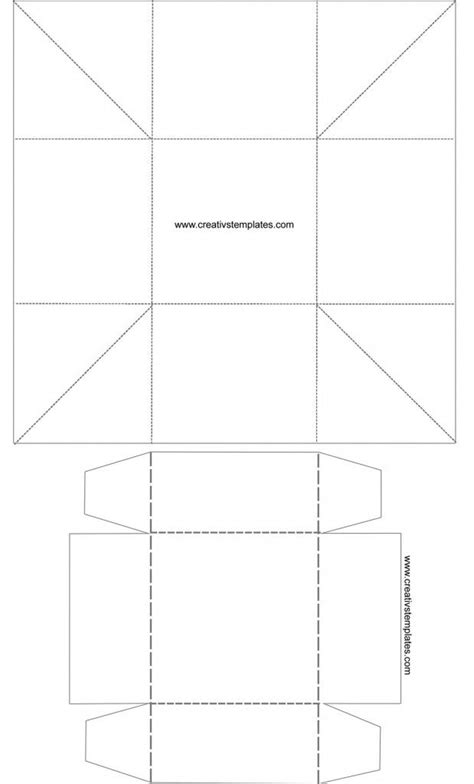 cube box template caixa cubo cube box template templates printables
