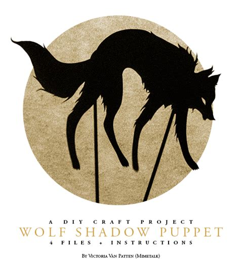 wolf puppet template wolf shadow puppet by mimetalk on deviantart