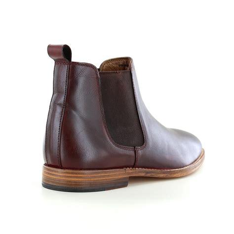 mens burgundy chelsea boots paolo vandini portway mens leather chelsea boots burgundy