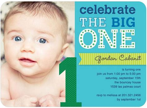 11 Unique And Cheap Birthday Invitation That You Can Try To Use Birthday Party Invitations Baby Boy 1st Birthday Invitation Templates Free