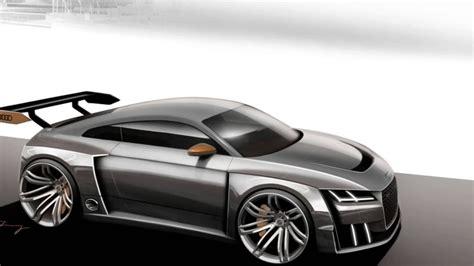 Audi Tt Design by 2016 Audi Tt Clubsport Turbo Concept Design Sketch Hd
