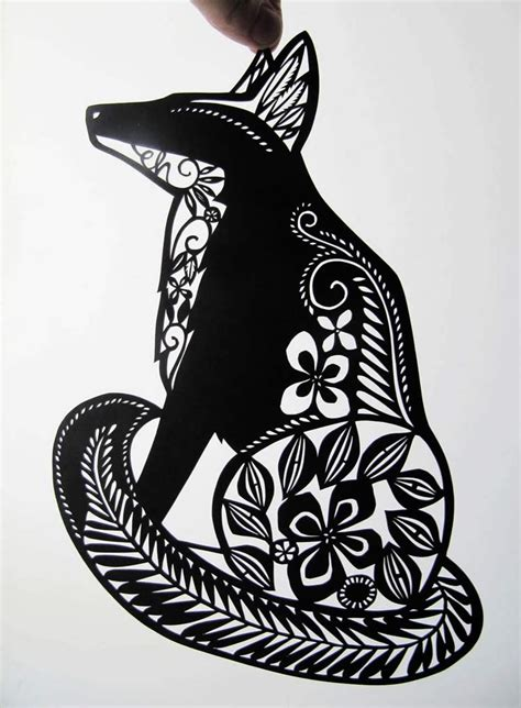 Paper Cutting Craft Tutorial - paper cut tutorials