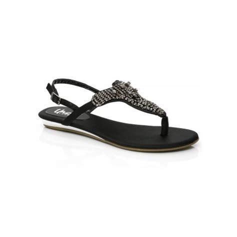 flat black shoes uk unze sandals evening flat sandals black