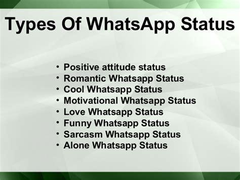 whatsapp status best best things about whatsapp status