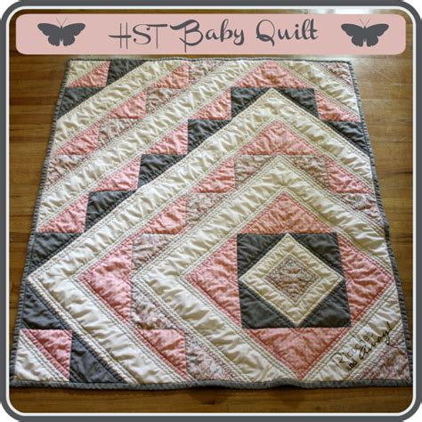 quilt tutorial videos ricochet and away hst baby quilt tutorial