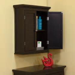 bathroom wall cabinets espresso bayfield espresso shutter door wall cabinet