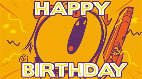 Happy Birthday Wishes Animated Gif Channel Frederator Gif Find Share On Giphy