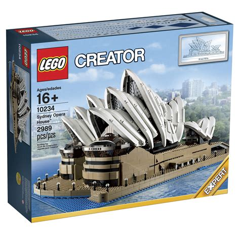 House Creator lego sydney opera house 10234 revealed for september 2013