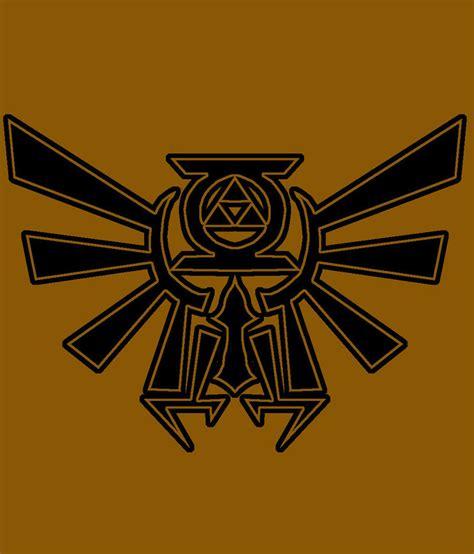 hylian crest tattoo hylian crest gl concept by on deviantart