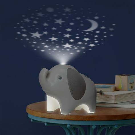 Skip Hop Moonlight Melodies Elephant Nightlight Soother