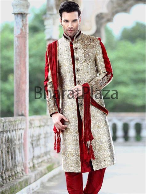 Pin by Iw Smile on Men Fashion   Indian wedding suits men
