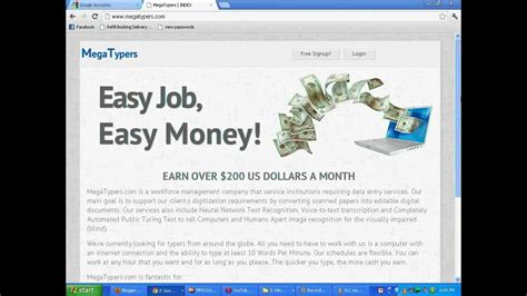 Make Money Online Typing Captcha - earn money online by typing data entry captcha code 100 legitimate mp3 brown
