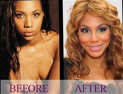tamar braxton nose job before after celebrity tamar braxton plastic surgery photos video