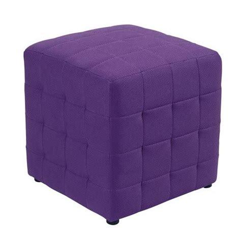 purple ottoman purple ottoman cube