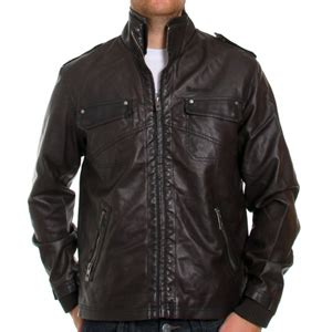 bench leather jacket faux leather jacket