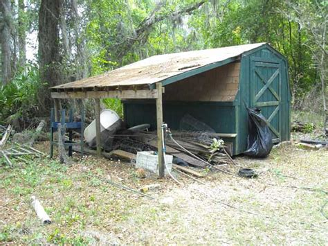 before after a shed goes from farmhouse to modern mike s blog space craft inc central florida home