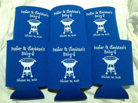 Baby Shower Koozies by Baby Shower Koozie Or Can Cooler Favors Odysseycustom