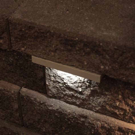 retaining wall lighting ideas retaining wall lights tri north lighitng inc