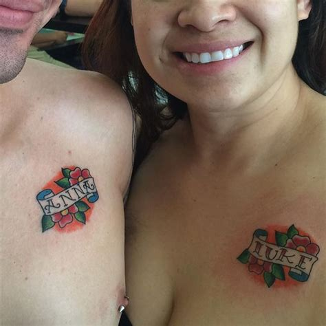 best couple tattoos creativefan 50 best couple tattoos ever
