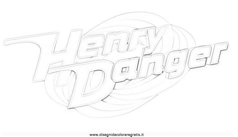 henry danger sketch coloring page disegno henry danger 2 misti da colorare sketch coloring page