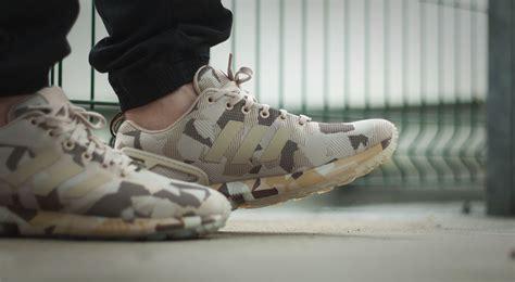 Sepatu Adidas Zx Camo Adidas Zx Flux Camo Brown Sneaker Bar Detroit