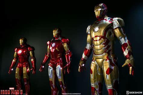 Figure Iron Mk 42 marvel iron 42 size figure by sideshow