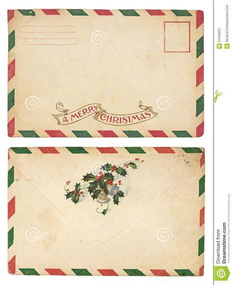 free printable envelope borders vintage christmas envelope stock image image of holiday