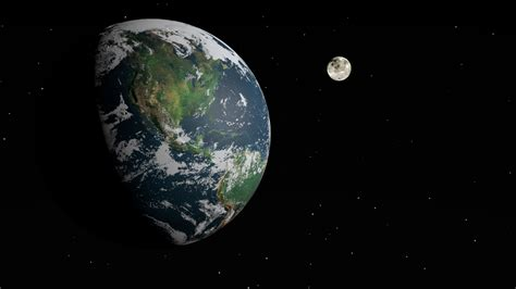earth s earth and moon pics about space