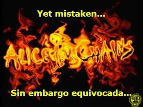 in chains in the box subtitulada espanol in chains shame in you subtitulada en espanol
