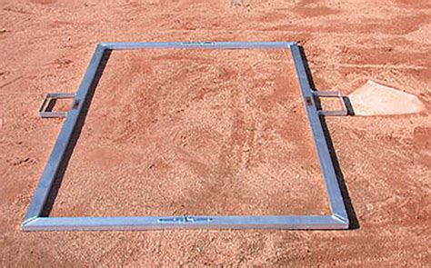 batters box template jaypro bbtmsb folding batter s box template softball 3 x 7