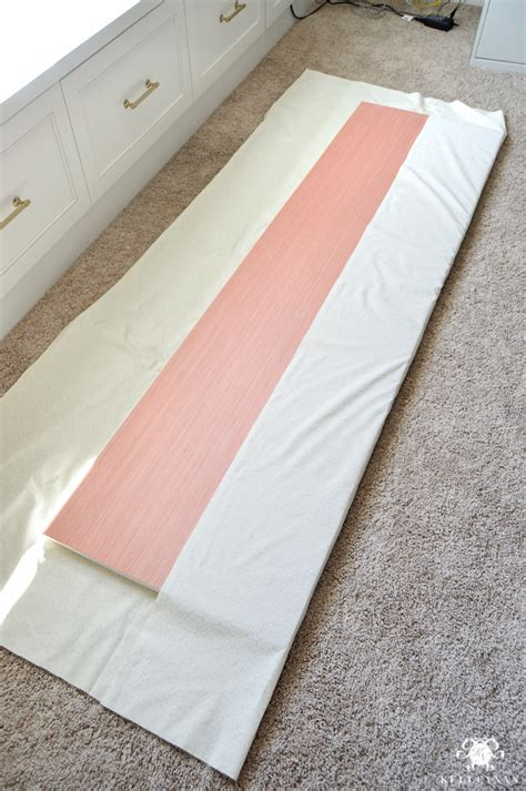 diy bench cushion easy stapled diy window seat cushion kelley nan