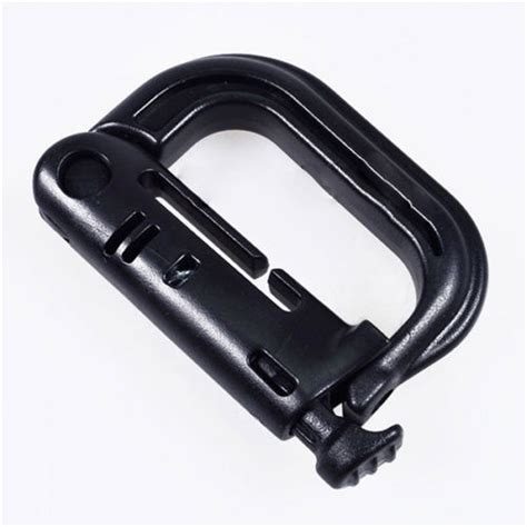 Carabiner Tactical 2pcs d ring clip tactical molle carabiner backpack snap