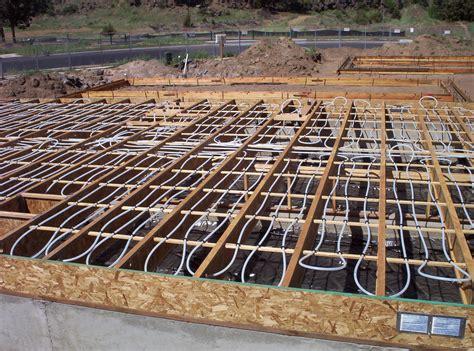 Pex Radiant Floor Heating by Installing Radiant Floor Heating Bend Oregon Bend Heating