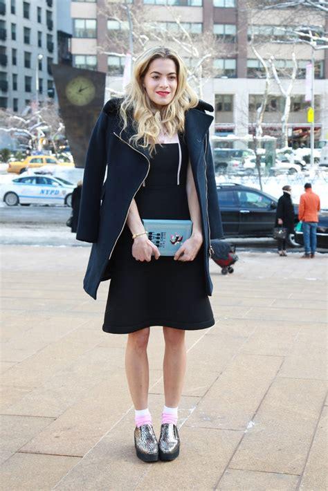 new york fashion week fall 2014 best new york 2014 street style at new york fashion week 2014