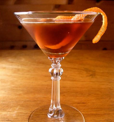 how to a manhattan drink eat drink think rum manhattan cocktail in the