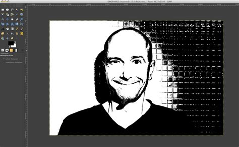 gimp making image black and white how to use gimp to make a portrait digital st