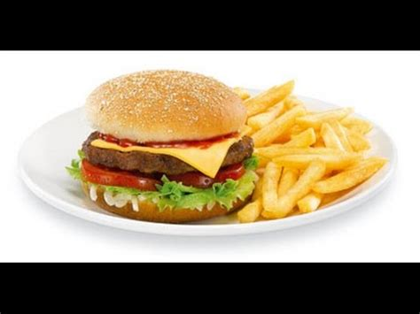 Want Fries With Your Hamburger by Easy Cheese Beef Burger By Sehar Syed
