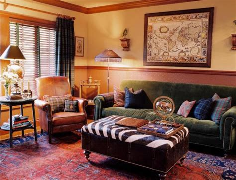 design family room how to make tartan work in a living room