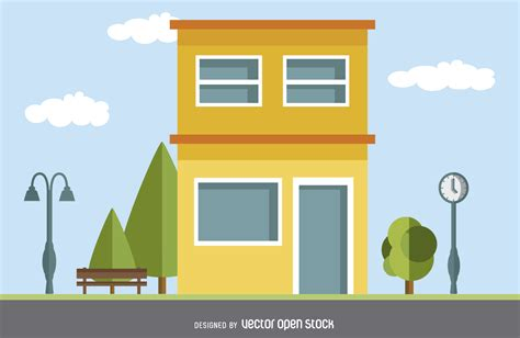 modern house drawing modern house drawing vector download