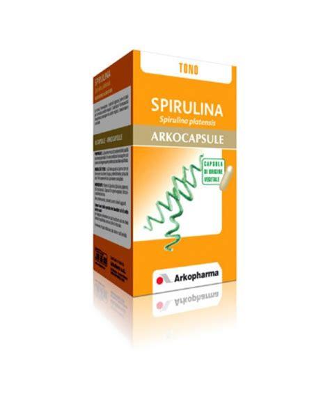 spirulina integratore alimentare arkopharma spirulina arkocapsule integratore alimentare 45