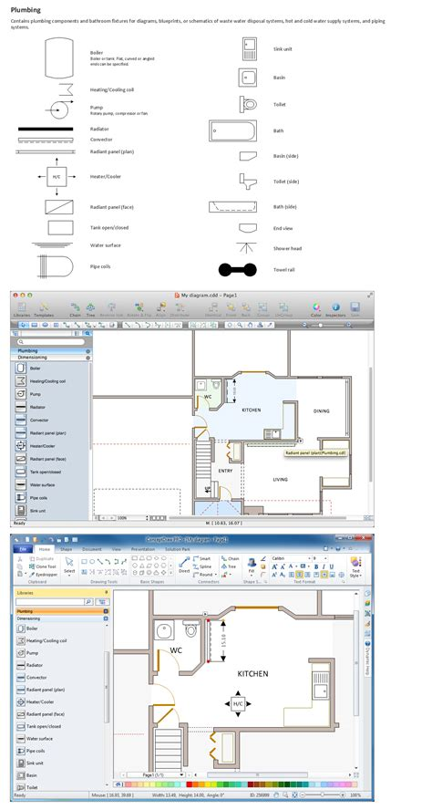 Building Regulations Plumbing by How To Use House Electrical Plan Software Electrical