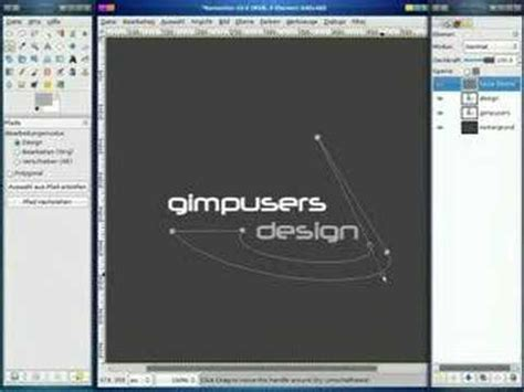 tutorial logo gimp gimp tutorial logo design youtube