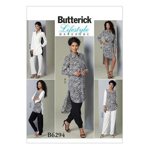 sewing pattern creator butterick misses tunic and pants sewing pattern 373262