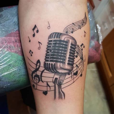 music mic tattoo designs 50 admirable tattoos for and 2018