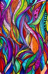 zentangle color when i was one of my favorite things to draw and