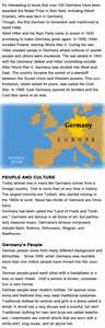 germany facts for kids childhood education