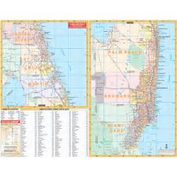map of se florida florida southeast wall map keith map service inc